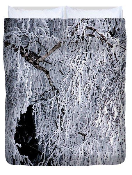 Winter Blanket Duvet Cover by Sharon Elliott