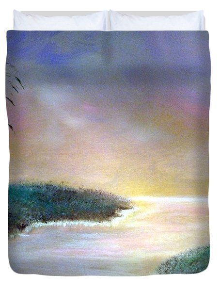 Winter Dawn 1 Duvet Cover by Alys Caviness-Gober
