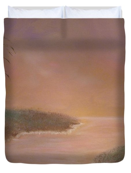 Winter Dawn Duvet Cover by Alys Caviness-Gober