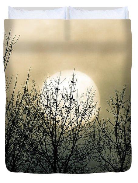 Winter Into Spring Duvet Cover by Bob Orsillo