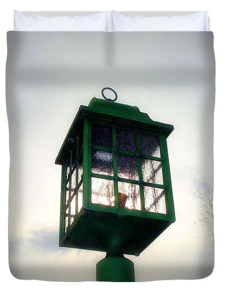 Winter Light Duvet Cover by J Allen