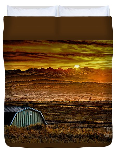 Winter Solstice Duvet Cover by Jon Burch Photography