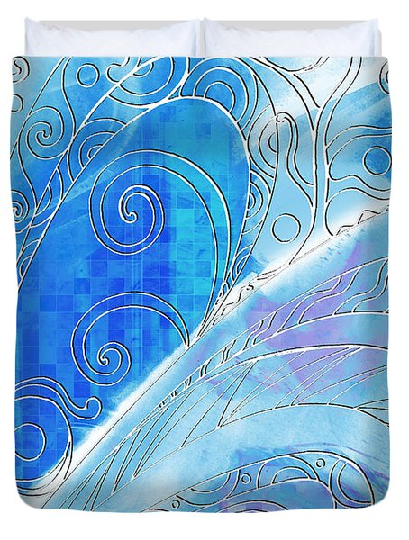 Winter Solstice  Duvet Cover by Shawna Rowe
