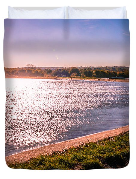 Winter Sunshine Duvet Cover by Dawn OConnor
