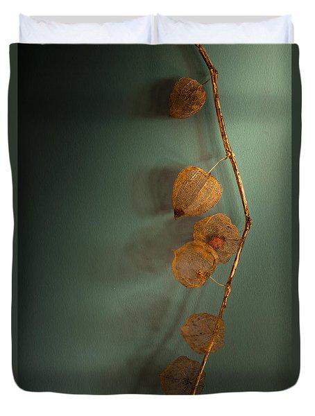 Winter Treasures Duvet Cover by Jan Bickerton
