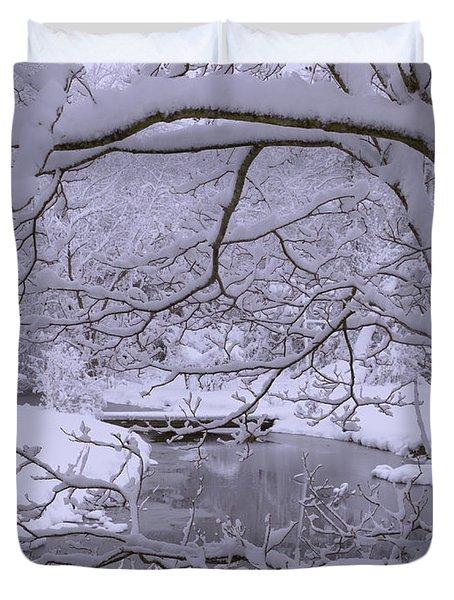 Winter Wonderland 2 Duvet Cover by Mike McGlothlen