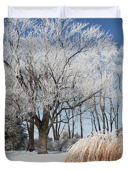 Winter Wonderland Duvet Cover by Robyn Saunders