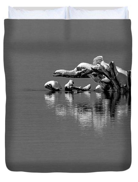 Wisconsin River Duvet Cover by Steven Ralser