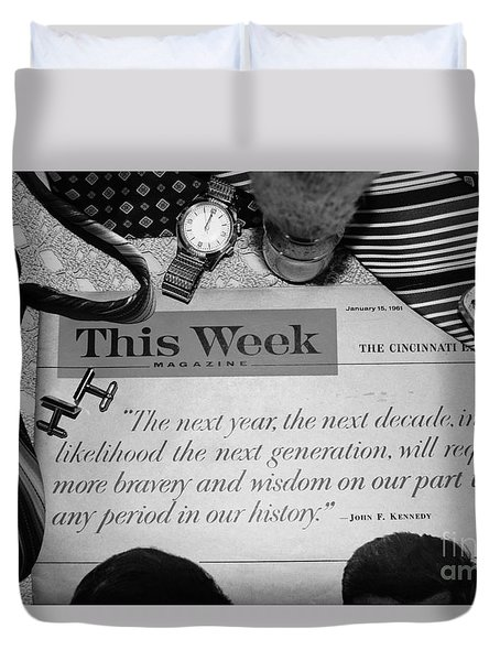 Wisdom Duvet Cover by Beverly Shelby