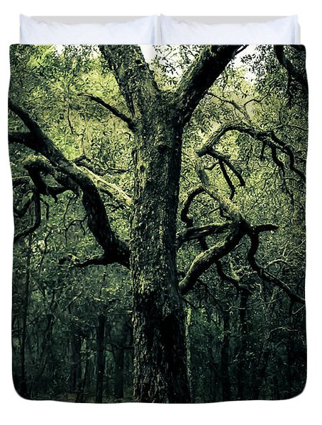 Wise Old Tree Duvet Cover by Robin Lewis