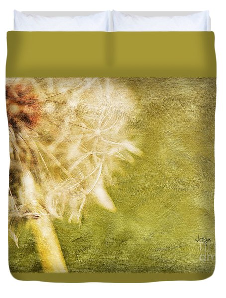 Wishful Thinking Duvet Cover by Lois Bryan