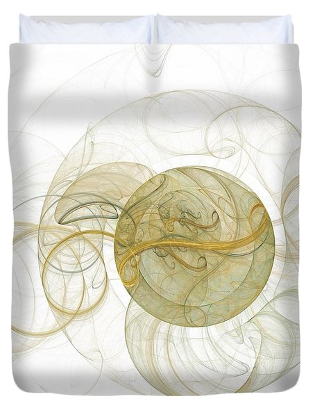 Within Without Duvet Cover by Elizabeth McTaggart