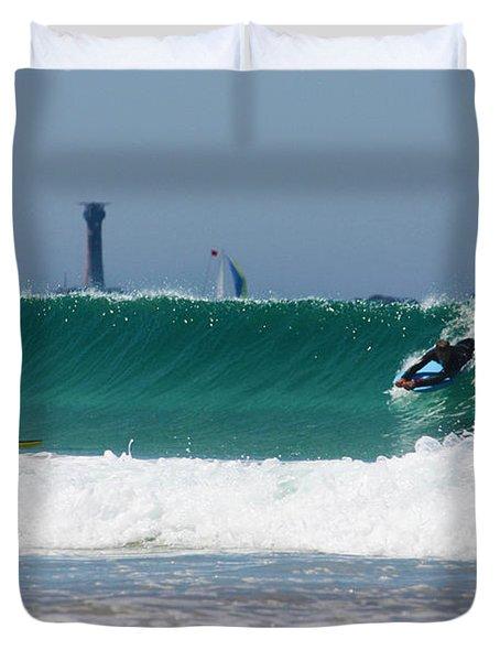 Wonderwall Duvet Cover by Terri  Waters