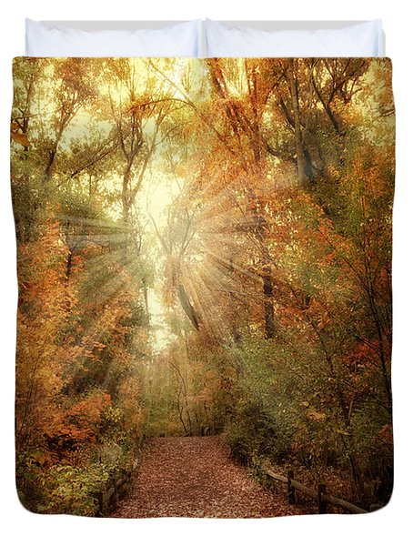 Woodland Light Duvet Cover by Jessica Jenney