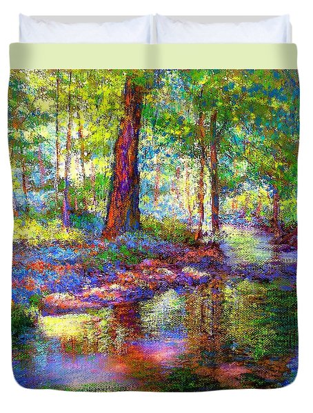 Woodland Rapture Duvet Cover by Jane Small