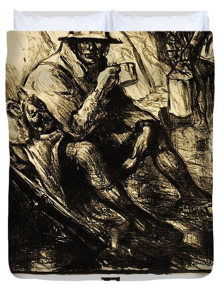 WORLD WAR 1 - U. S. WAR POSTER Duvet Cover by Daniel Hagerman