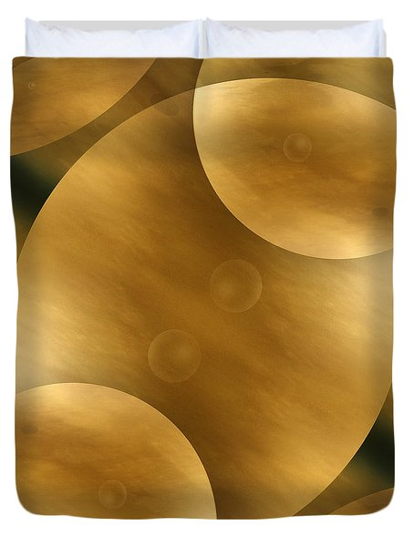 Worlds Collide 10 Duvet Cover by Mike McGlothlen