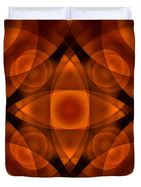 Worlds Collide 15 Duvet Cover by Mike McGlothlen