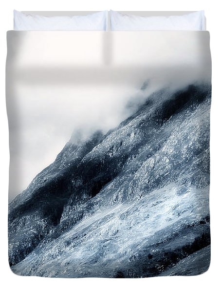 Wuthering Heights. Glencoe. Scotland Duvet Cover by Jenny Rainbow