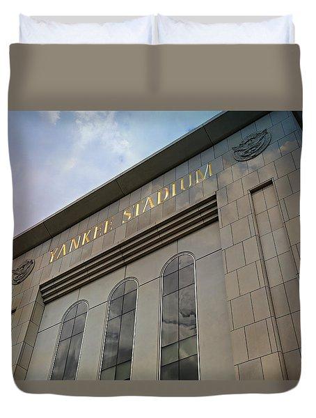 Yankee Stadium Duvet Cover by Stephen Stookey