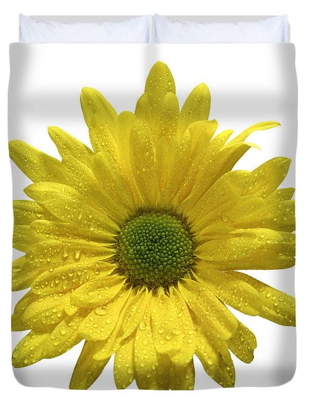Yellow Daisy  Duvet Cover by Mauro Celotti