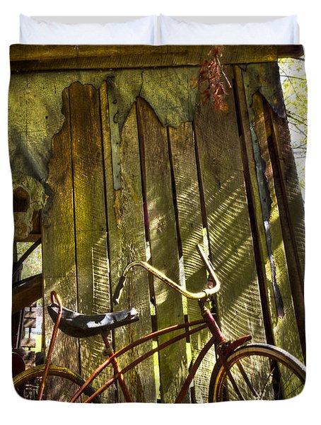 Yesterday Duvet Cover by Debra and Dave Vanderlaan