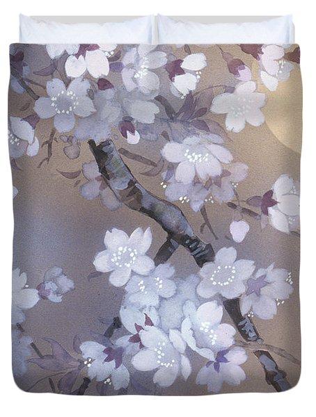 Yoi Crop Duvet Cover by Haruyo Morita