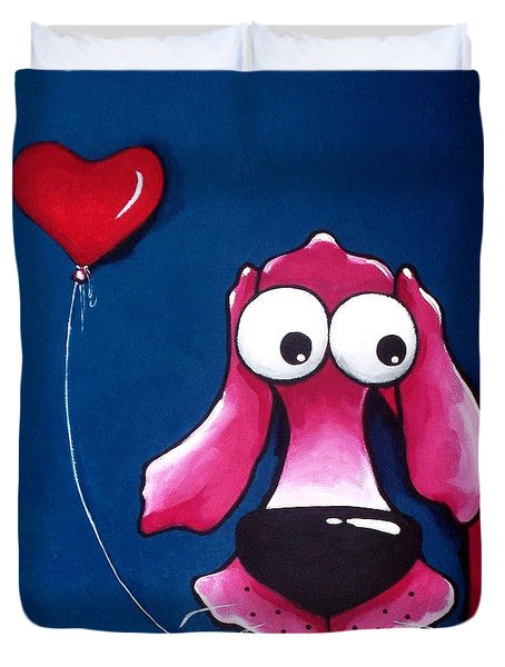 You have my heart Duvet Cover by Lucia Stewart