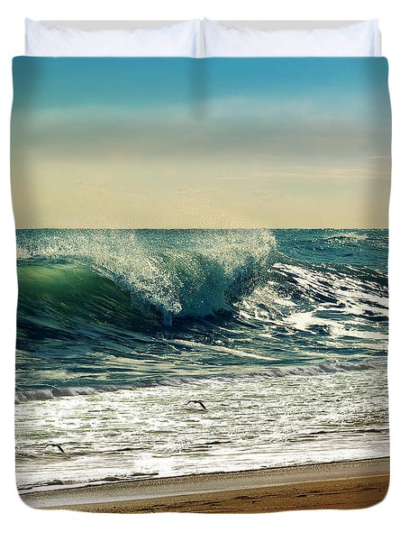 Your Moment Of Perfection Duvet Cover by Laura Fasulo