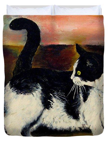 Your Pets Commission Me To Paint Duvet Cover by Carole Spandau