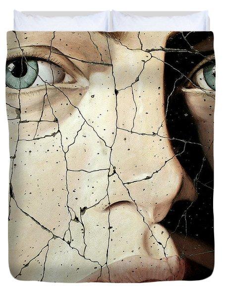 Zara - Study No. 1 Duvet Cover by Steve Bogdanoff