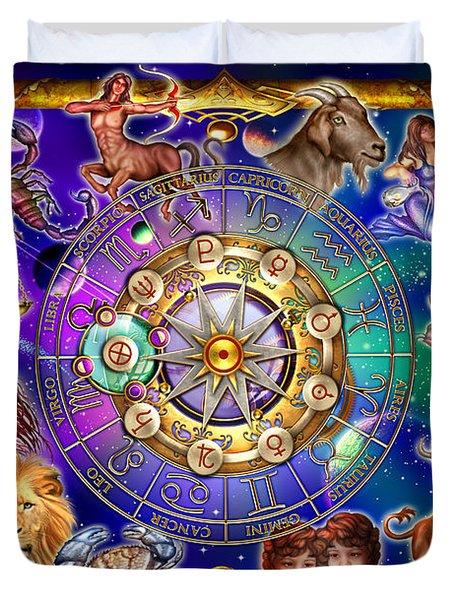 Zodiac 2 Duvet Cover by Ciro Marchetti