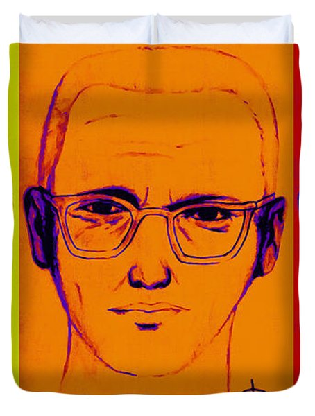 Zodiac Killer Three With Sign 20130213 Duvet Cover by Wingsdomain Art and Photography