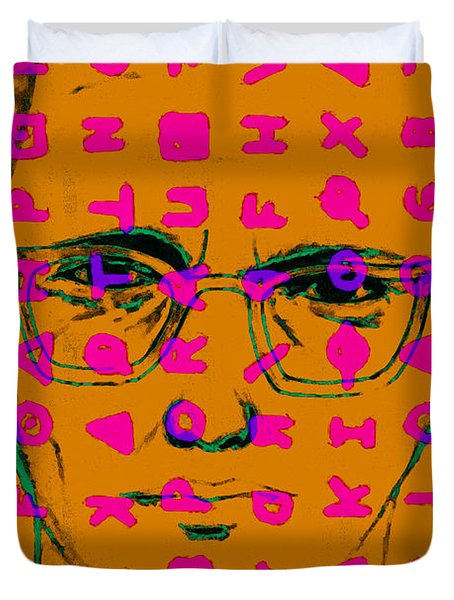Zodiac Killer With Code and SIgn 20130213m80 Duvet Cover by Wingsdomain Art and Photography