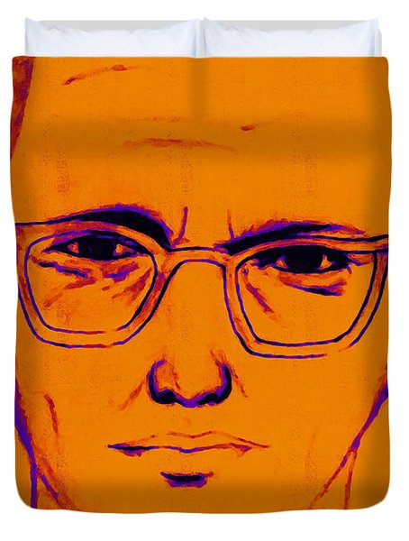 Zodiac Killer With Sign 20130213m98 Duvet Cover by Wingsdomain Art and Photography