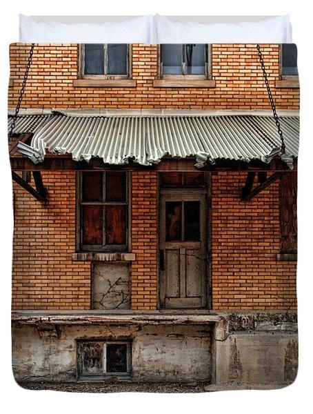 Abandoned Warehouse Duvet Cover by Jill Battaglia