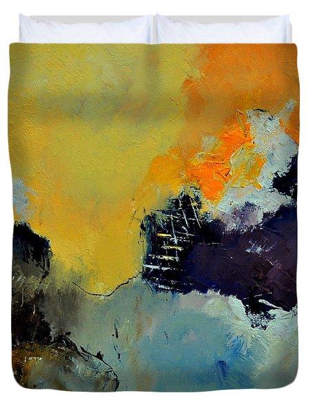 Abstract 8821013 Duvet Cover by Pol Ledent