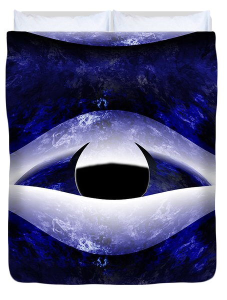All Seeing Eye Duvet Cover by Christopher Gaston