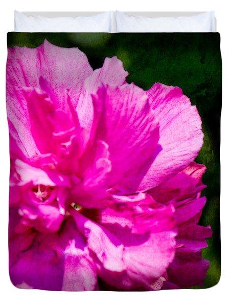 Althea Blossom Duvet Cover by Barry Jones