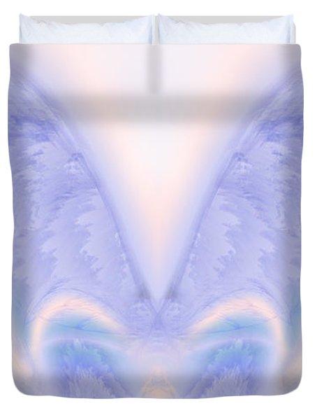 Angel Wings Duvet Cover by Christopher Gaston
