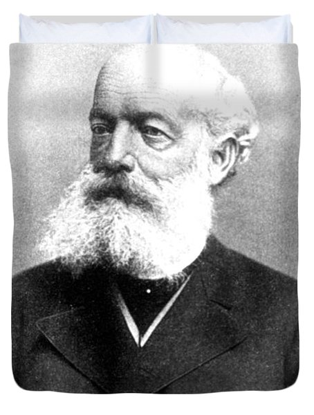 August Kekulé, German Organic Chemist Duvet Cover by Science Source