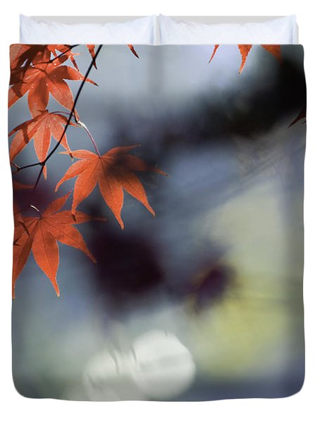 Autumn Red  Duvet Cover by Rob Travis