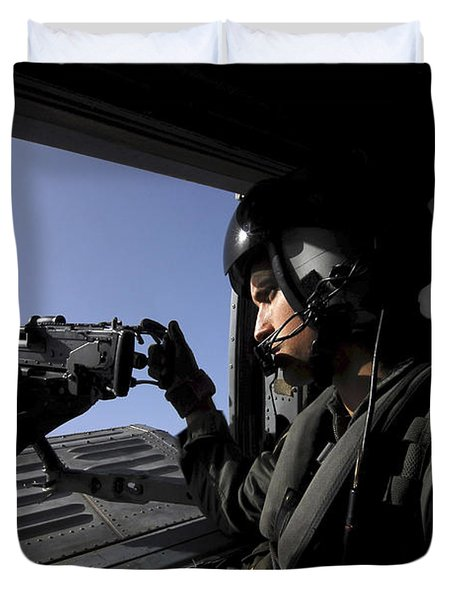 Aviation Warfare Systems Operator Duvet Cover by Stocktrek Images
