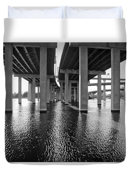 Baltimore By-pass Duvet Cover by Brian Wallace