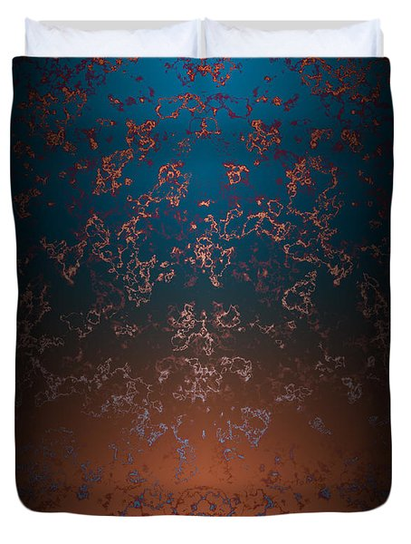 Beyond Lava Lamps Duvet Cover by Christopher Gaston