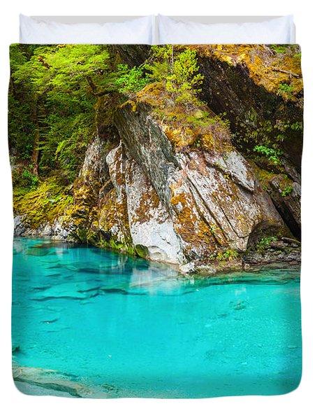 Blue Pools Duvet Cover by MotHaiBaPhoto Prints