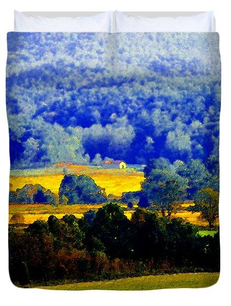 Blue Ridge Duvet Cover by David Lee Thompson