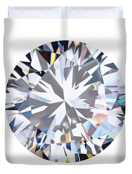 brilliant diamond Duvet Cover by Setsiri Silapasuwanchai