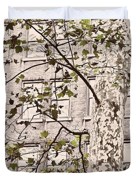 BRYANT PARK Duvet Cover by JAMART Photography