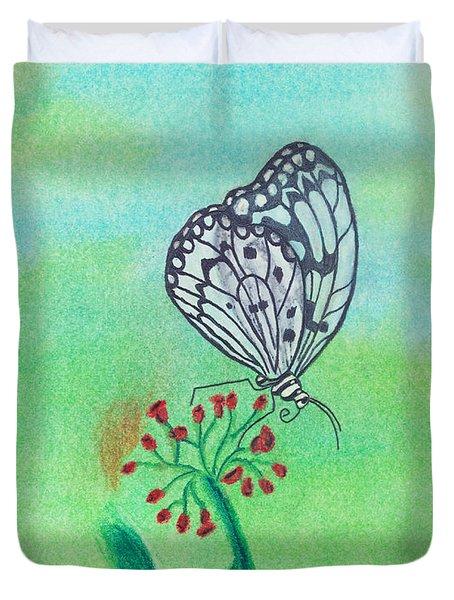 Butterfly Duvet Cover by Susan Schmitz